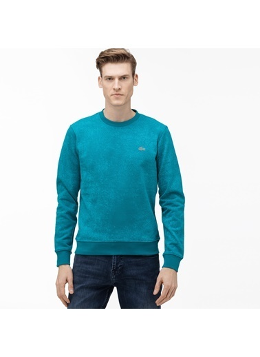 Lacoste Erkek Motion Sweatshirt SH5184.YZW Mavi